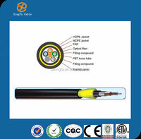 China Hangzhou Cable manufacture 24 core fiber optic cable