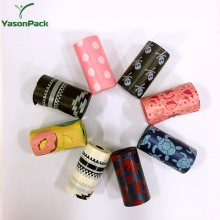 Logo Printed Eco Friendly Biodegradable Scented Colorful Disposable Dog Poop Bags