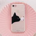 2017 New Products Fashion Cute Cat Phone Case For Apple IPhone7/7plus Soft Back Cover For IPhone 6S
