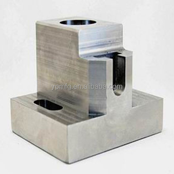 Stainless steel cnc machine milling part