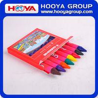 wholesale cheap stationery Kids multicolor promotion Jumbo wax Crayon