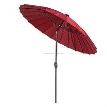 Patio 8.5 Ft Outdoor Market Umbrella with Push Button Tilt and Crank