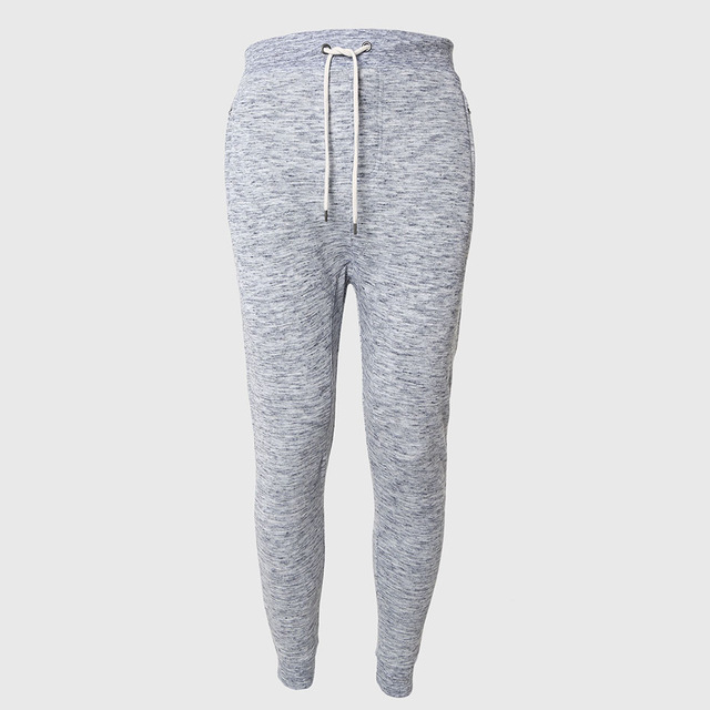 APT016 Men Tapered Pencil Pants Terry Zipper Trousers Solid Sweat Running Bottoms Casual Trend Sports Wear Hip Hop