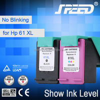 2015 hot Printer Ink Cartridge Compatible For HP 61