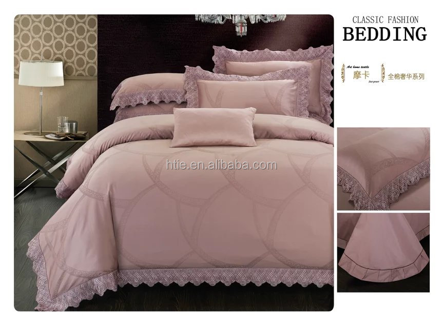 100% cotton jacquard bedding set