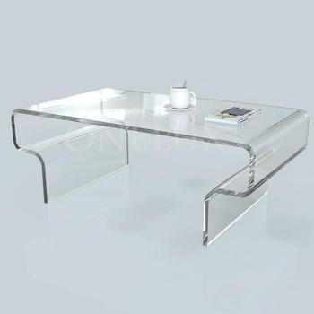 Hot sale modern design acrylic tea table coffee table