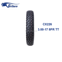 FEIBEN BRAND FACTORY DIRECT CHINA CX226 TIRE MANUFACTURER MOTORCYCLE TYRES 3.00-17 OFF ROAD