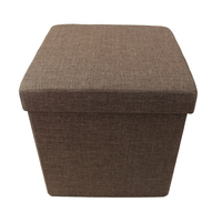 Assembled Polyester Foldable Foot Stool