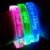 Customized Replaceable Battery Led Flashlight Bracelet TZ-W270 Glow In The Dark Wristbands