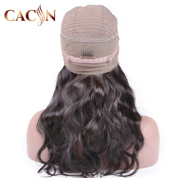 Free Sample 360 lace frontal wig brazilian human hair,Human hair lace front wig,Natural color indian women hair lace front wig