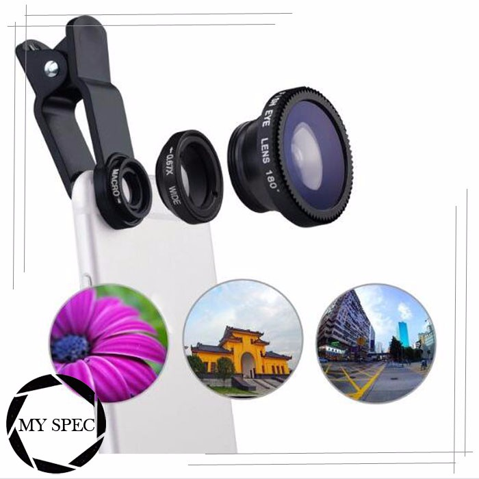 High definition 3 in 1 smart phone 10x macro camera lens for samsung