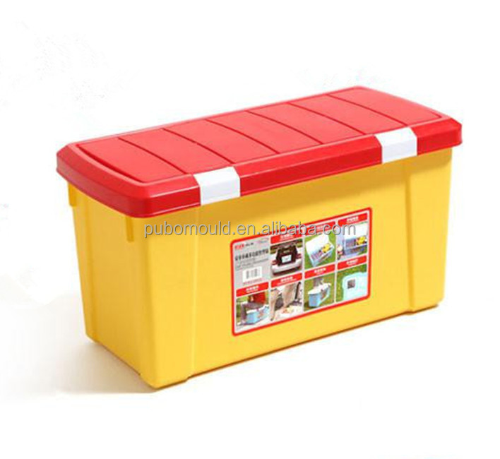 Non-toxic and Tasteless PP Plastic Storage Boxes for Car Trunk