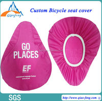 Top quanlity funny outdoor Advertised Tool Bike Seat Cover alibaba china