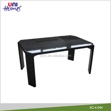 Black Color High Gloss Folding Coffee Table