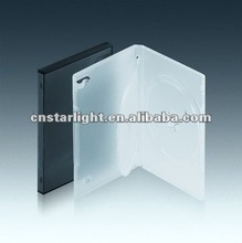 14mm Long Black Double DVD case with insert