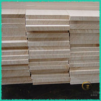 paulownia jointed board , lumber 20mm for furniture