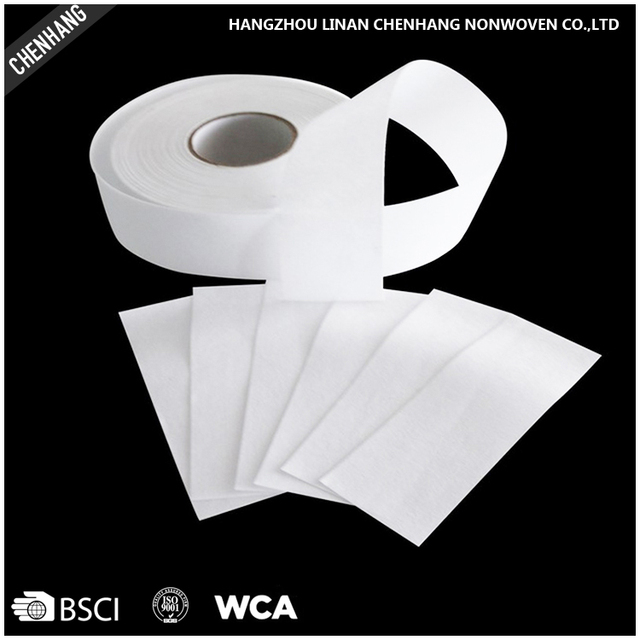 OEM Nonwoven Depilatory Paper Wax Strips For Salon