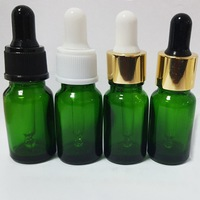 High Quality Green Perfume Glass Bottle