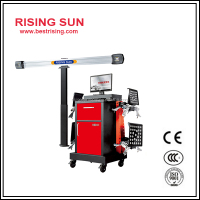 Portable used 3d four wheel alignment