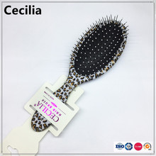 New Arrival Leopard Print Magic Brush Shower Wet Hair Brush