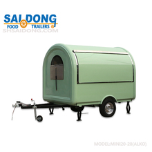 Newt Best global hand push food van for sale/Food truck china mobile food cart/ Customized Logo Street mobile food truck