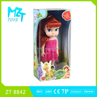 2016 New !Eco-friendly PVC 12 Inch tinker bell Barbie Doll (3 model mixed)