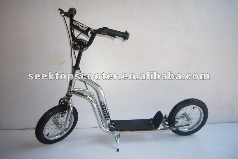 RETRO BMX kick scooter with 12inch air tire for kids use