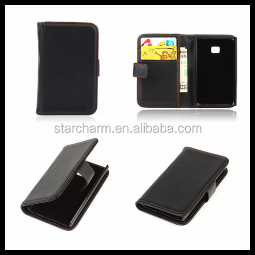 Smartphone Accessories 2014 with Stand PU Wallet Case for LG L3