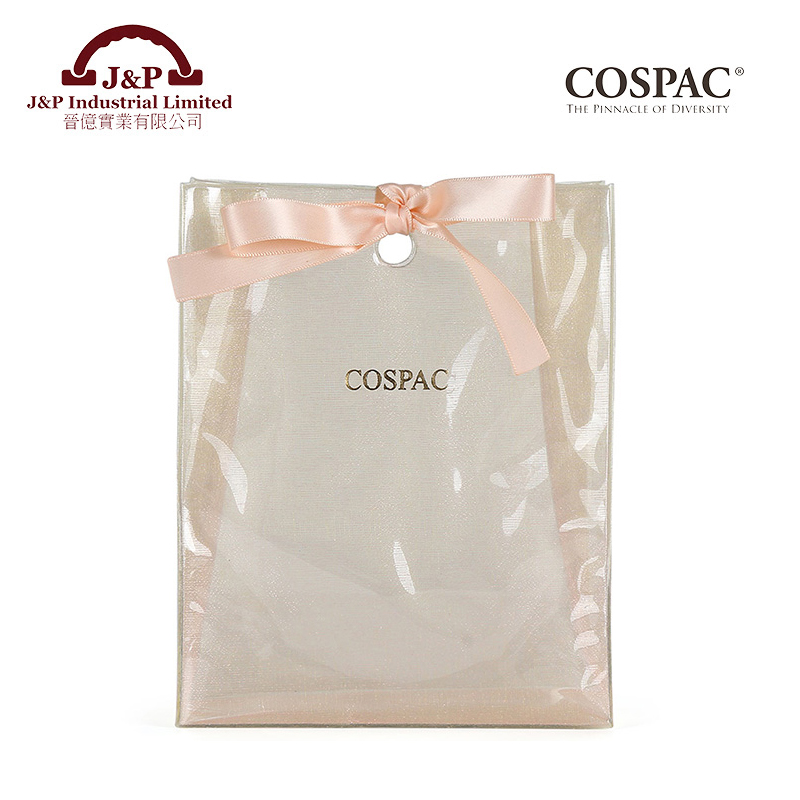 China oem fashionable shopping pcv gift bag