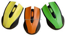more color computer 2.4Ghz cheap Wireless optical mouse