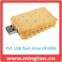 1G biscuit shape usb flash memory for kids