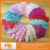 curly goose feather pads-feather pads for headbands