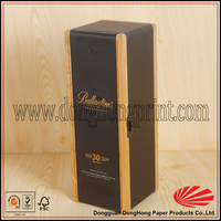 High class wood material perfume box designs/Empty perfume boxes