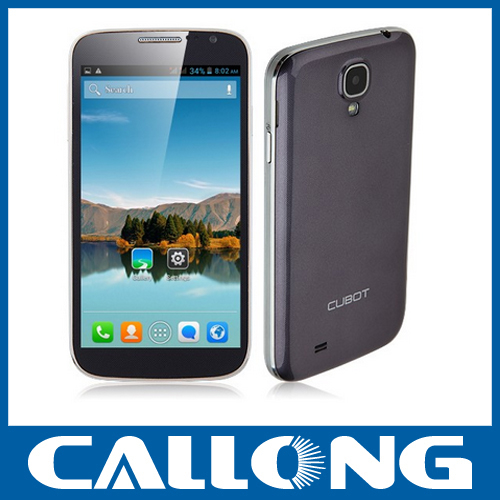 "Original cellphones Cubot P9 5"" MTK6572W Dual Core mobile phones 8MP dual sim 512MB/4GB Android 4.2 3G smart Phone"