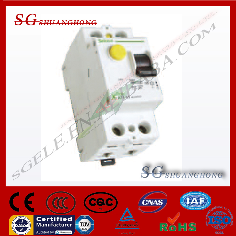 Electro-magnetic type L7-63 Residual Current differential circuit breaker