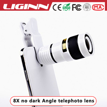 LIGINN christmas gift Camera 8x Telephoto Zoom Lens with universal clip for All Android IOS Mobile Phone