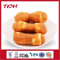Chicken Mud Cover Rawhide Knotted Bone Mixed Food For Dog
