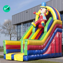 professional supplier cheap inflatable clown slide for sale