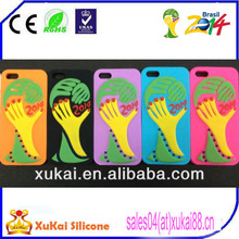 promotion 2014 world cup silicone mobile phone cover