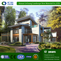 High Class Durable Modern steel prefab house for mozambiqu