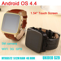 most popular products china supplier offer wrist bluetooth 3G wifi android watch phone