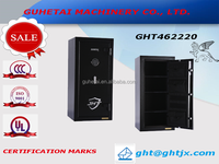 Modern style portable gun safe box wholesale/rifle safe UL coded lock gun safe cabinet with Pre-drilled anchor holes
