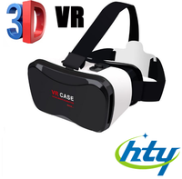New Generation Virtual Reality Headset 3d Vr box 2 with vr box controller for 3d Movies and Games