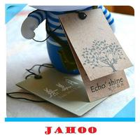 Customized Hang Tag Garment Tags Kraft Paper Tag