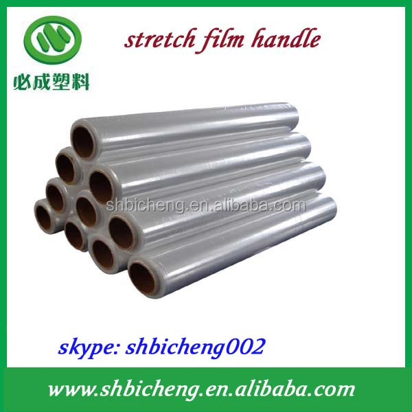 Silage wrap stretch film for hand packing