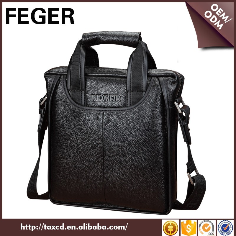 Original design men leather bag best messenger bags for laptops