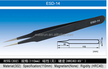 110mm mini vetus eyelash extension tweezers with sharp point China manufacture