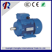 Top quality aluminum housing 0.5hp three phase induction motor