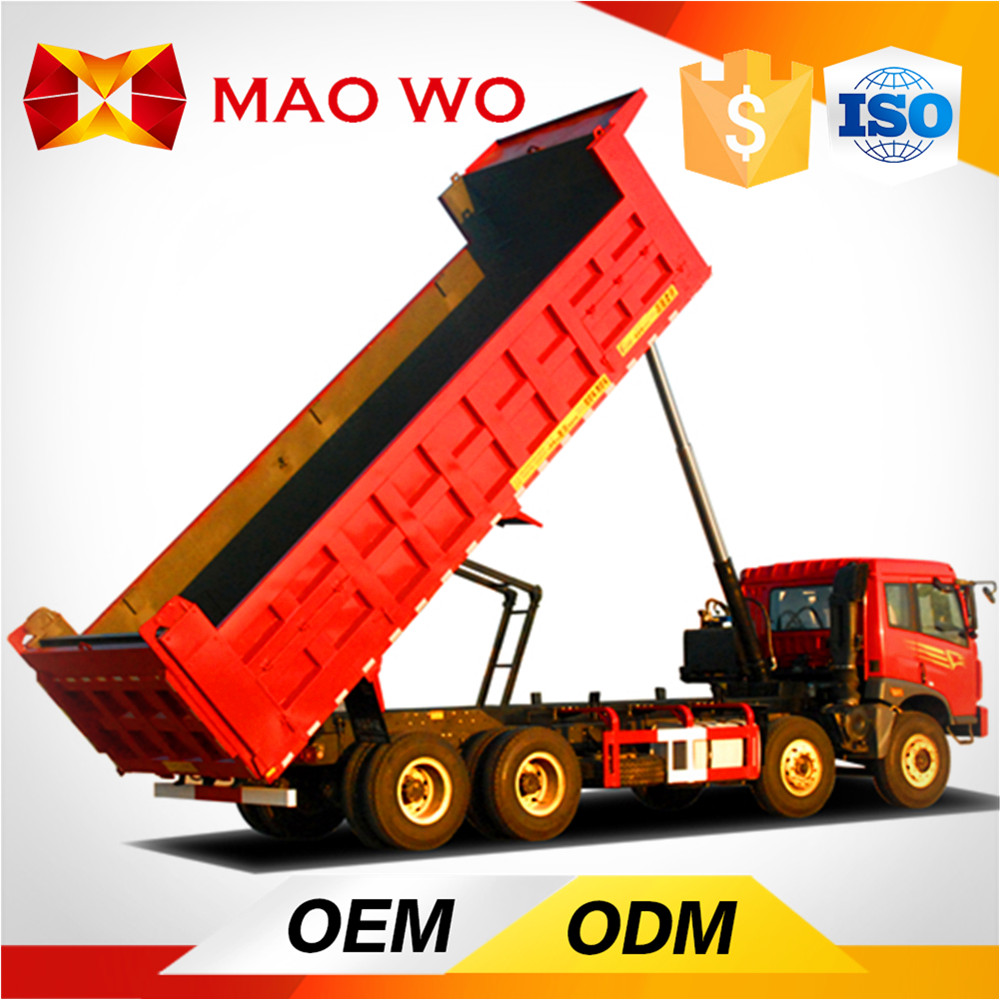 2016 new brand diesel fuel type 12-wheel dump truck for sale