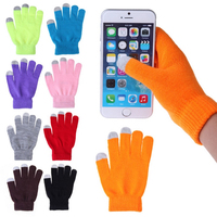 Screen Touch Women's Gloves Winter Gloves For Cell Phone/Tablet